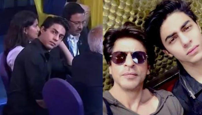 Aryan Khan Fixing His Hair At IPL Auction 2021 Reminds Netizens Of His Father Shah Rukh Khan [VIDEO]