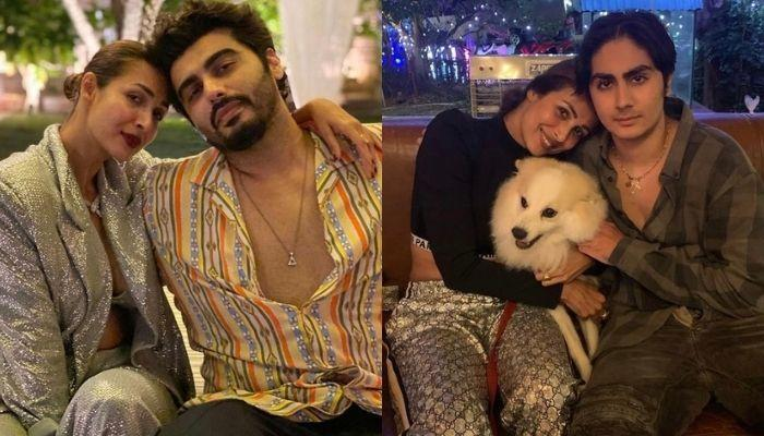 Arjun Kapoor Twins With Malaika Arora's Son, Arhaan Khan As He Accompanies Them To Visit Her Parents
