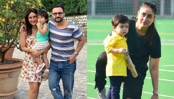 Kareena Kapoor Is Prepping Son Taimur For His Little Sibling With Hubby, Saif As She Is Ready To Pop