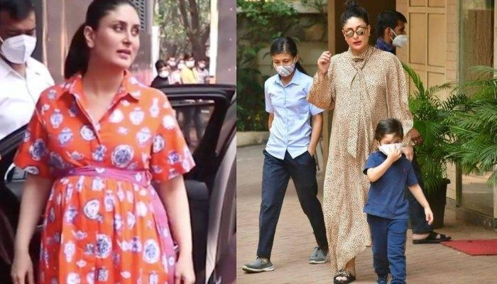 Netizens Question Kareena Kapoor Khan's Delivery Date After She Was Spotted At Karisma Kapoor's Home