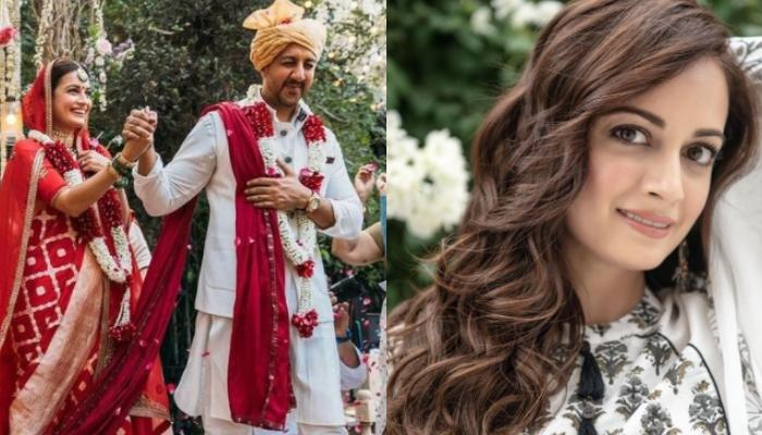 Dia Mirza Looks Stunning In First Post-Wedding Look, Her Unique Silver Mangalsutra Steals The Show