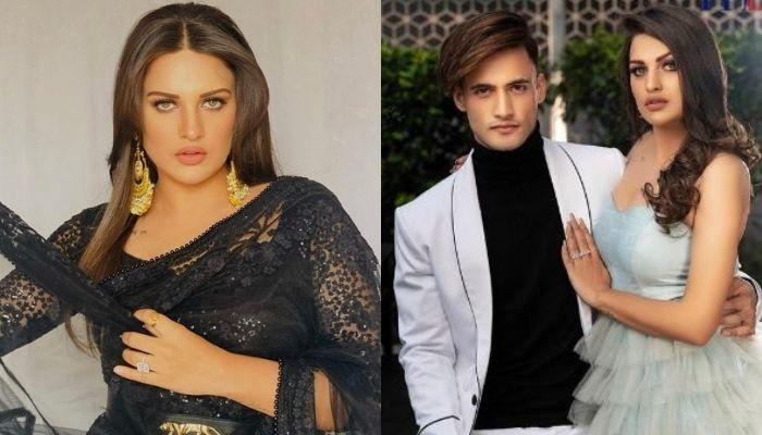 Himanshi Khurana's Huge Heart-Shaped Diamond Ring Suggests Her Engagement With BF, Asim Riaz