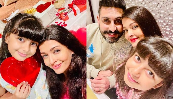 Aishwarya Rai Bachchan Attends Cousin's Wedding With Hubby, Abhishek And Daughter, Aaradhya
