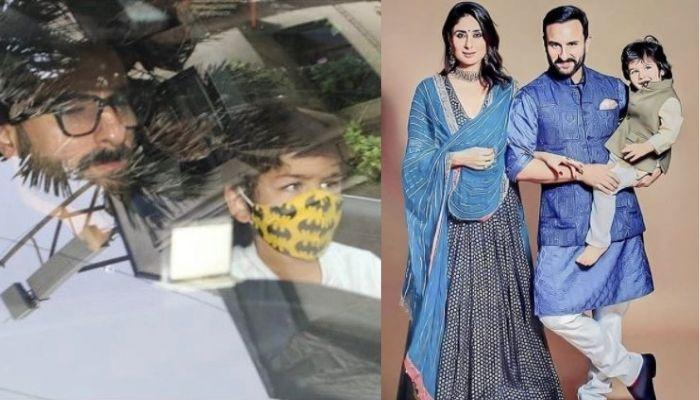 Kareena Kapoor Khan's Newborn Baby Boy's FIRST GLIMPSE As The Family Takes Him Home [Video]
