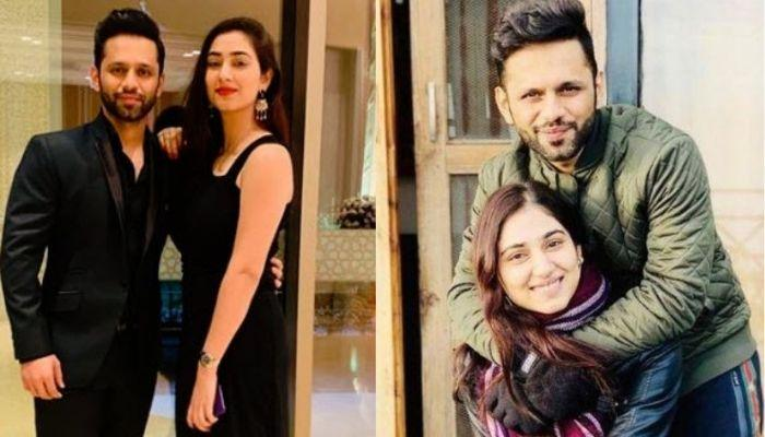 Disha Parmar Is Delighted With Her Beau, Rahul Vaidya's Return, Says Her Trophy Is Home