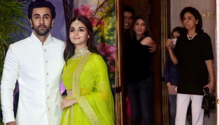 Alia Bhatt And Ranbir Kapoor Wedding Preparations Begin? Neetu And Riddhima Visit Manish Malhotra