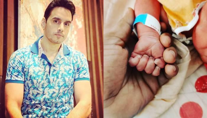 'अमृत मंथन' फेम वसीम मुश्ताक दूसरी बार बने पिता, बेबी की पहली झलक शेयर कर बताया नाम