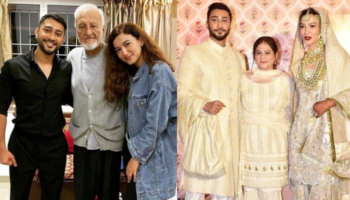 Gauahar Khan's Father Admitted In A Hospital, Actress Praises Her In-laws For Their Constant Support