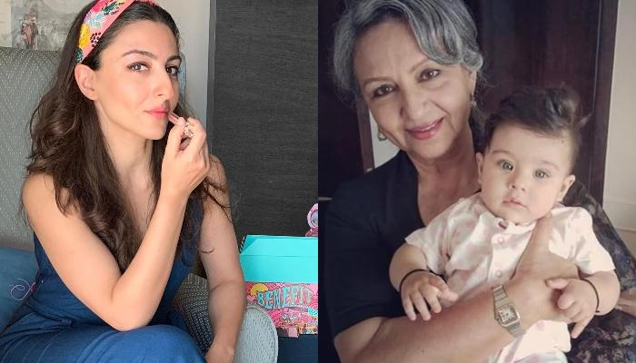 Inaaya Naumi Kemmu Cannot Take Off Her Eyes From Her 'Naani', Sharmila Tagore's Portrait