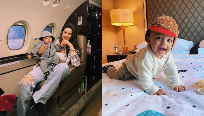 नताशा स्टेनकोविच ने शेयर किया बेटे अगस्त्य का वीडियो, घुटने के बल चलना सीख रहे हार्दिक के लाडले