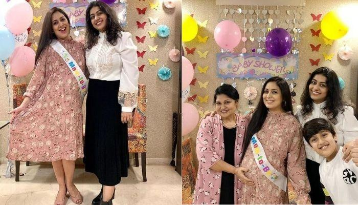 The Unique Gender-Reveal Cake At Singer, Harshdeep Kaur's Baby Shower Ceremony Steals The Show