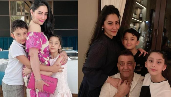 Maanayata Dutt Shares An Adorable Family Picture With Hubby, Sanjay Dutt And Kids, Shahraan And Iqra