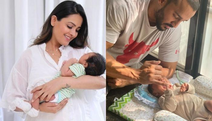 पिता रोहित रेड्डी की कार्बन कॉपी हैं अनिता हस्सनंदनी के बेटे आरव, लेटेस्ट वीडियो है सबूत