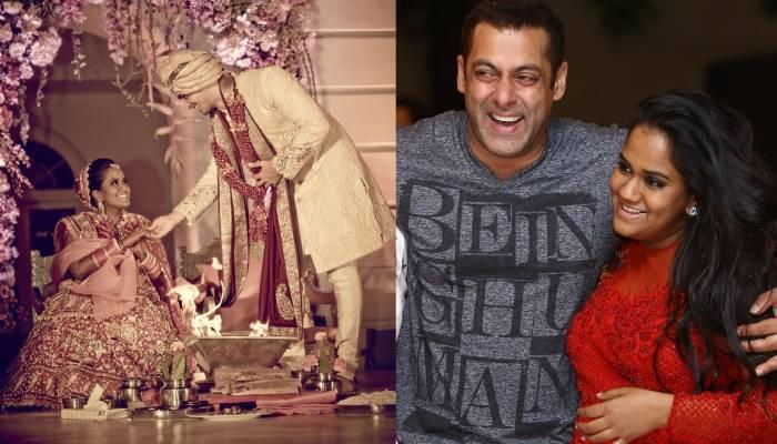 अर्पिता खान ने भाई सलमान संग अपनी शादी की अनदेखी फोटो की शेयर, बॉडी फ्लॉन्ट करते दिखे एक्टर