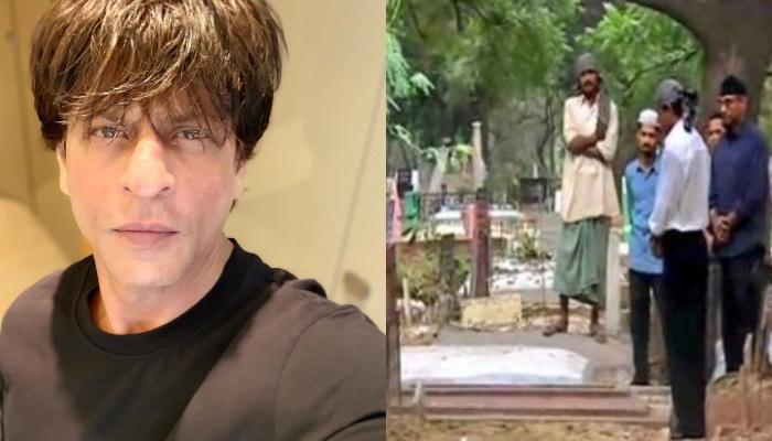 शाहरुख़ खान ने दिल्ली आते ही किया माता-पिता की कब्र पर सजदा, सामने आईं भावुक कर देने वाली फोटोज