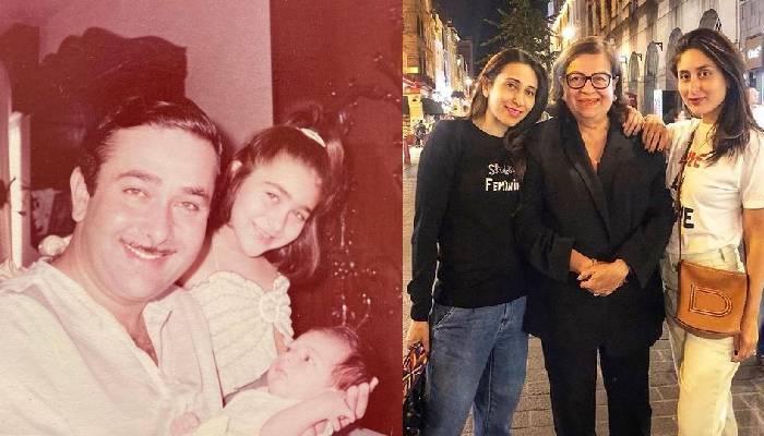 करिश्मा कपूर ने शेयर की बहन करीना और मां बबीता की अनदेखी तस्वीर, बेबो के साथ खेलती दिखीं एक्ट्रेस