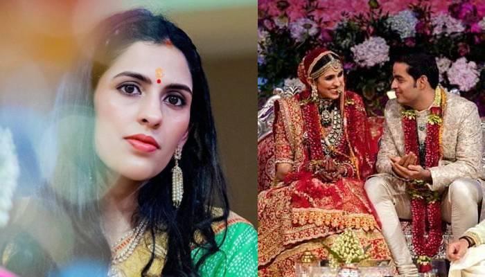 आकाश अंबानी की वाइफ श्लोका मेहता ने अपनी शादी की रस्मों में पहने थे ये आउटफिट्स, देखें तस्वीरें