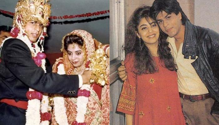 Shah Rukh Khan And Gauri Khan Performs 'Fugdi' Twinning In Green In This Unseen Old Party Picture