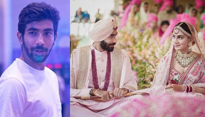 Jaspreet Bumrah And Sanjana Ganesan Wedding   जसप्रीत बुमराह ने गर्लफ्रेंड संजना  गणेशन संग की शादी