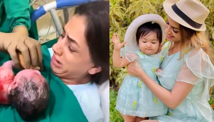 Smriti Khanna And Her Just-Born Daughter Anayka Gupta's 'Jab We Met' Moment Is Too Special For Words