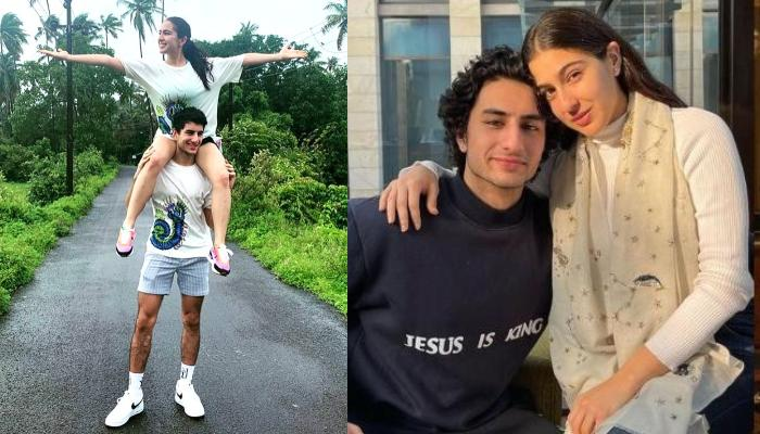 Sara Ali Khan Shares 'Frozen' Pictures With Brother, Ibrahim Ali Khan And It'll Make You Envy Them