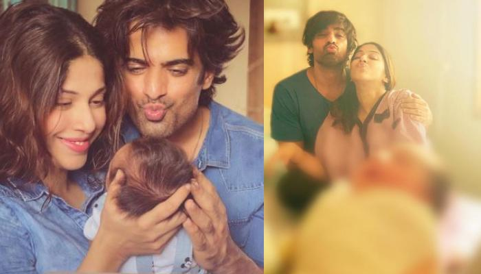 Mohit Malik And His Wife, Addite Malik Share The Unique Name Of Their Baby Boy With A Family Photo