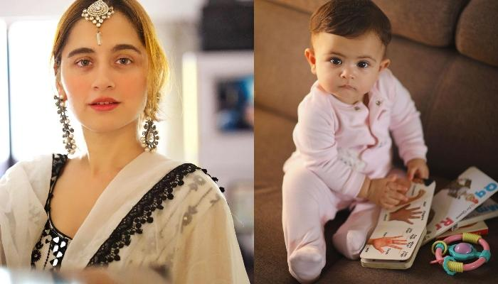 Sanjeeda Shaikh Twins With Daughter, Ayra Ali In White For Eid, Little One Dons A Floral Headgear