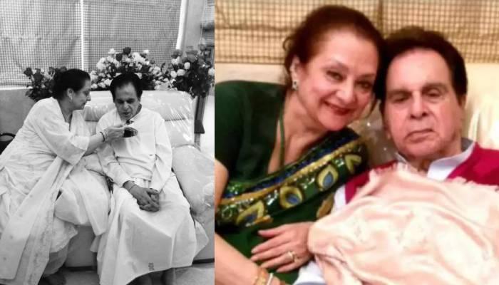 Saira Banu Shares First Photo Dilip Kumar From Hospital  सायरा बानो ने दी दिलीप  कुमार की हेल्थ अपडेट