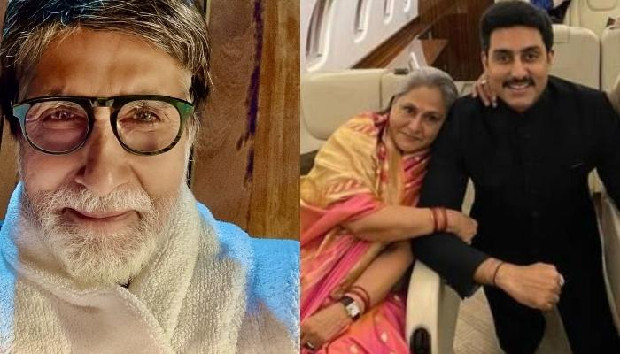 Amitabh Bachchan's Unseen Picture With Wife, Jaya Bachchan, Children, Shweta And Abhishek