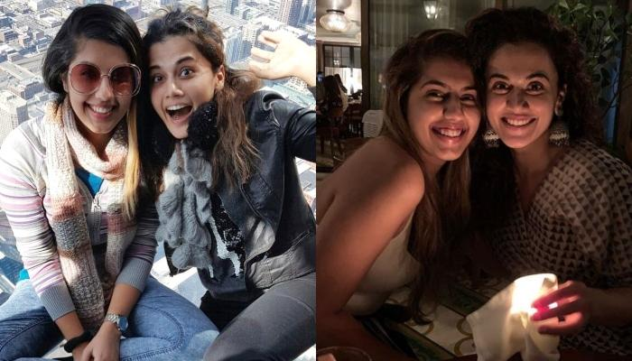 Taapsee Pannu And Her Sister, Shagun Pannu Spend Quality Time While Holidaying In Russia