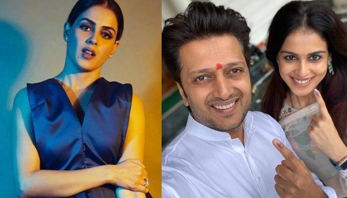 Genelia Deshmukh Shares A Rare And Unseen Picture With Hubby, Riteish Deshmukh, Pens A Note