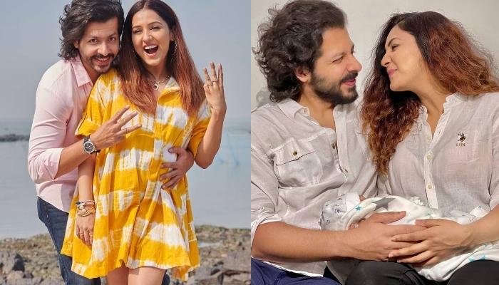 Neeti Mohan And Nihaar Pandya Share First Pictures Of Their Baby Boy, Reveals His Unique Name