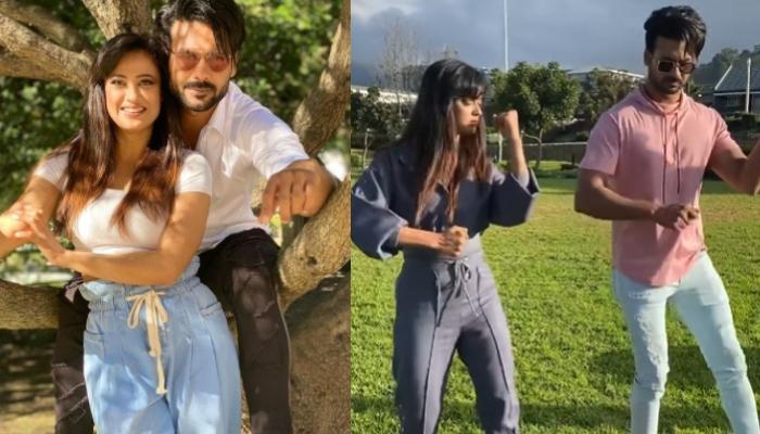 Shweta Tiwari Gets Brutally Trolled For Her 'Happy Dance' With Co-Contestant, Vishal Aditya Singh