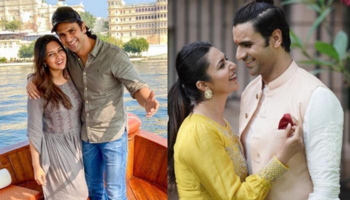 Divyanka Tripathi And Vivek Dahiya Look Stunning With Arms Around Each Other, Exude Couple Goals