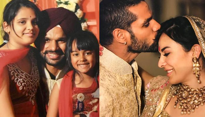 Shikhar Dhawan Is Only 15 Years Elder To His Step-Daughters, Proves He Is The Coolest Father