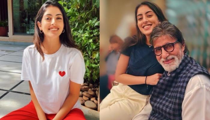 Navya Nanda Has The Sweetest Reaction To The Climax Scene Of Amitabh Bachchan's Film, 'Naseeb'