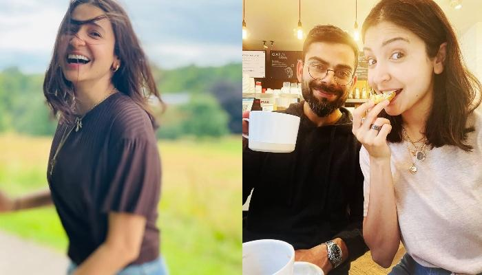 New Mommy, Anushka Sharma Poses In A Cute Baby Pink Sweatshirt And It Costs Less Than 5000