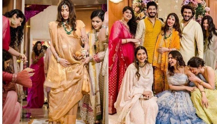 Unseen Photos From Antara Marwah's Baby Shower, From Traditional 'Godh  Bharai' To Giggling Kapoors