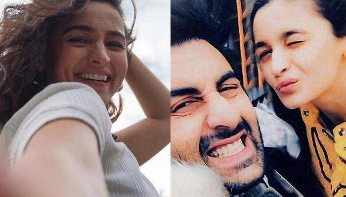 Alia Bhatt Plans A Romantic Birthday Date For Beau, Ranbir Kapoor, The Duo Enjoys A Sunset View