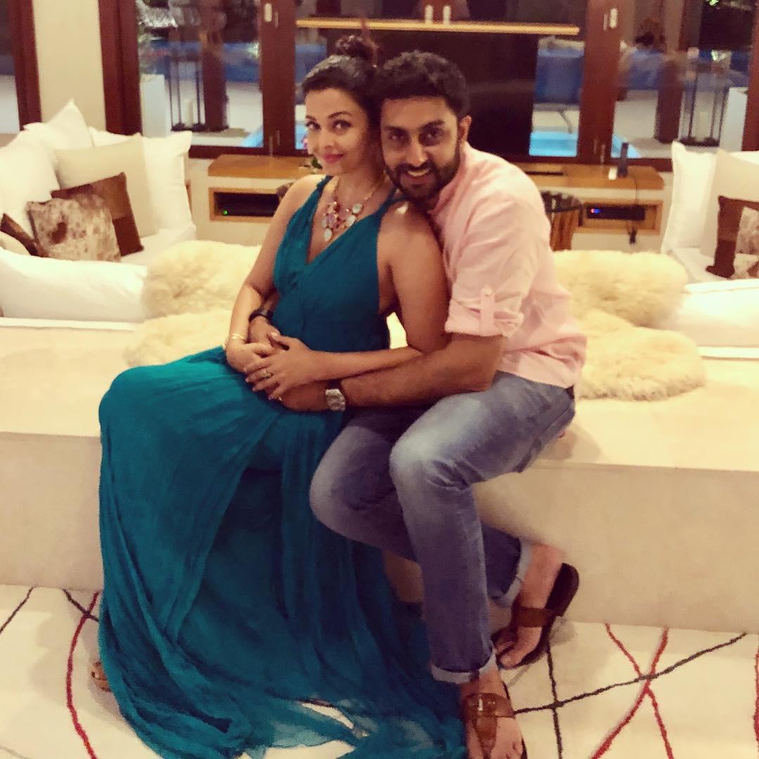 Aishwarya Rai and Abhishek