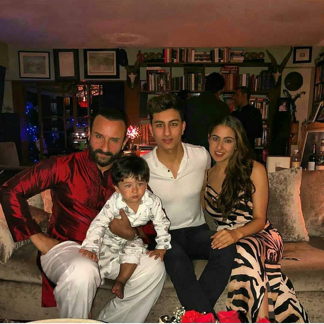 Saba Ali Khan Family