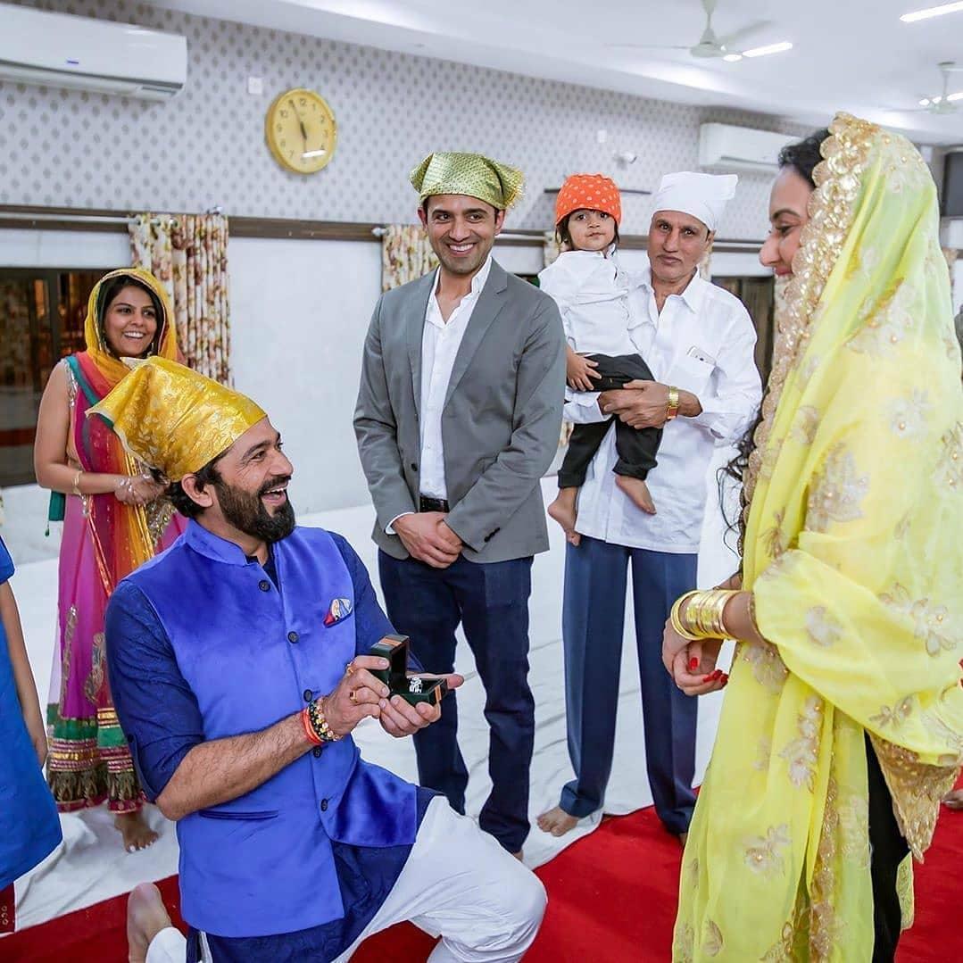 Kamya Punjabi Engagement Photos