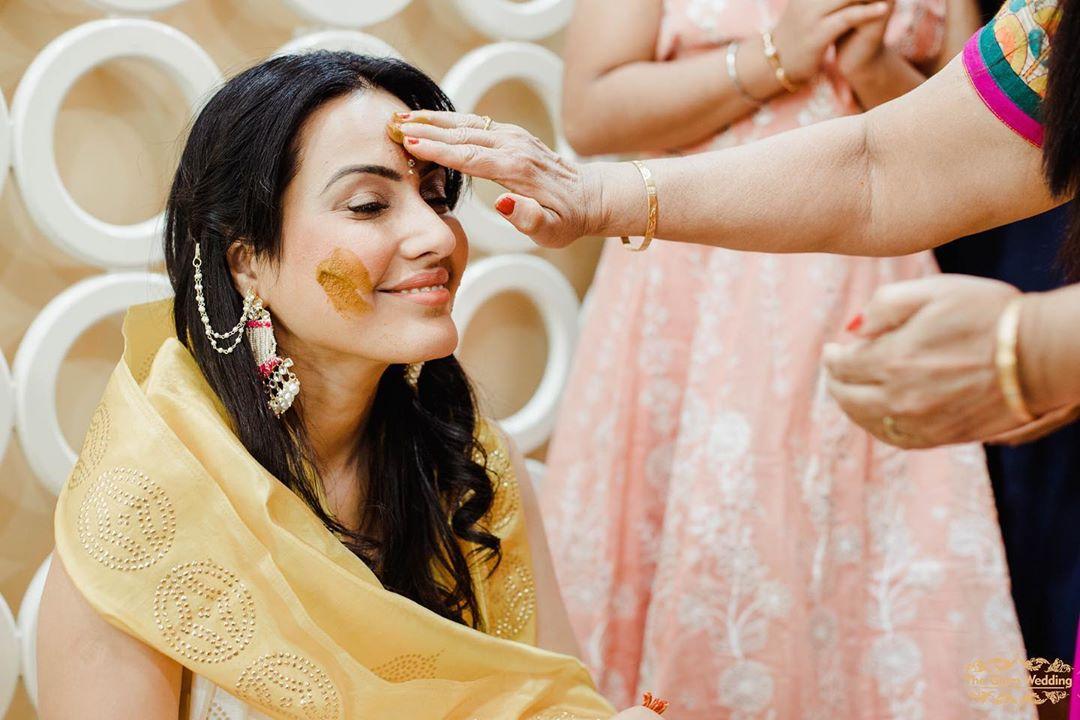 Kamya Punjabi Haldi Ceremony Photos