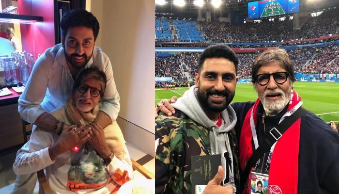 जन्मदिन से पहले अभिषेक बच्चन की वायरल हुई ये अनदेखी तस्वीर, पिता अमिताभ बच्चन ने दिया खास रिएक्शन