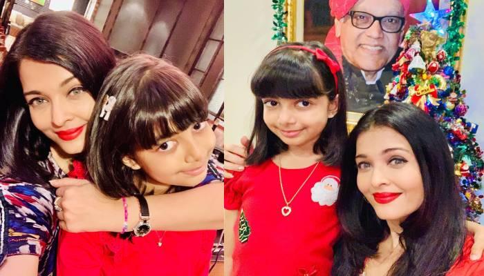 ऐश्वर्या राय बच्चन ने बड़े ही धूमधाम से आराध्या बच्चन संग किया 'होलिका दहन', तस्वीरें वायरल