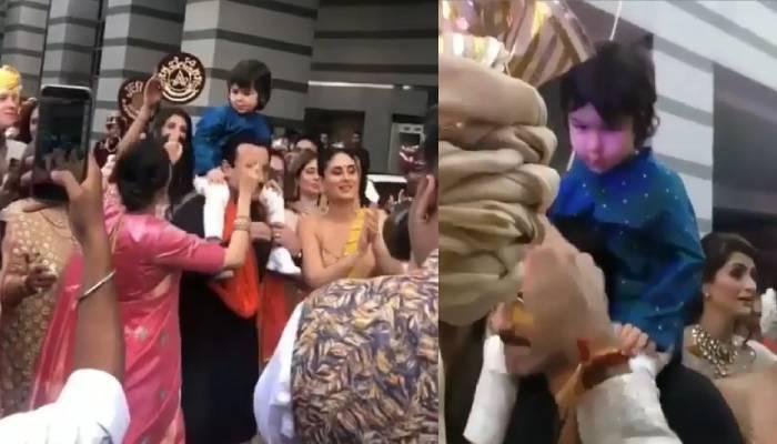 मामा अरमान जैन की शादी में तैमूर अली खान ने ऐसे किया डांस, देखिए उनके बेहद प्यारे वीडियोज