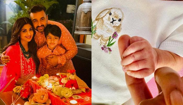 शिल्पा शेट्टी कुंद्रा और राज कुंद्रा एक बार फिर बने पेरेंट्स, फोटो शेयर कर बताया दूसरे बच्चे का नाम