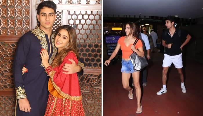 एयरपोर्ट पर पैपराजी को देख इब्राहिम अली खान का हुआ बुरा हाल, देखिए सारा अली खान ने कैसे ली चुटकी