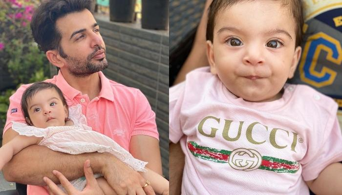 टीवी एक्टर जय भानुशाली और माही विज की बेटी ने पहली बार बोला पापा, देखें क्यूट बेबी का ये वीडियो