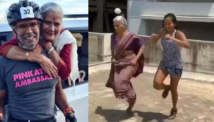 एक्टर मिलिंद सोमन की मां ने 81 की उम्र में किया वर्कआउट, बहू को भी पछाड़ा, यहां देखें वीडियो